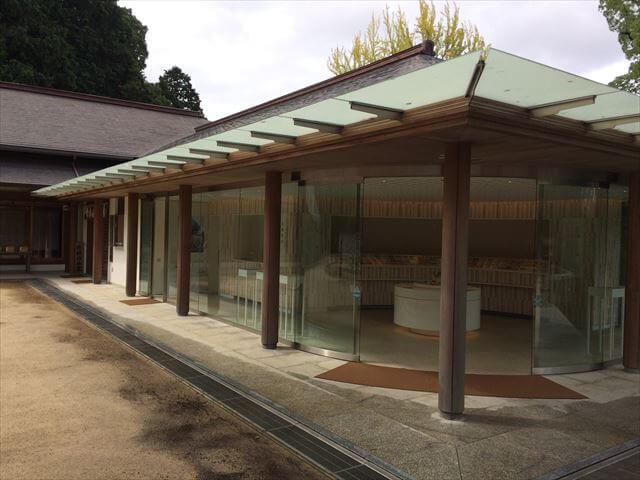 竈門神社(かまどじんじゃ)おしゃれな社務所