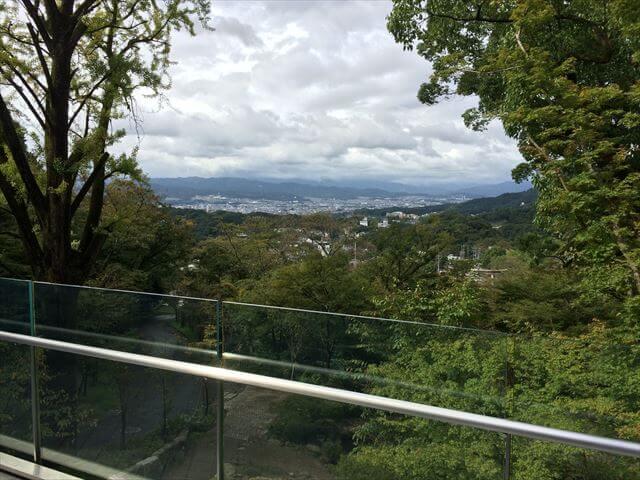 竈門神社(かまどじんじゃ)から眺める福岡の風景
